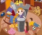 Rapunzel. A Princesa de cabelos longos na torre