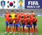 Seleção da Coreia do Sul, Grupo H, Brasil 2014
