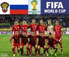 Seleção da Rússia, Grupo H, Brasil 2014
