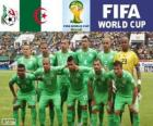 Seleção da Argélia, Grupo H, Brasil 2014