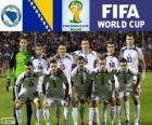 Seleção da Bósnia e Herzegovina, Grupo F, Brasil 2014