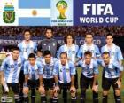 Seleção da Argentina, Grupo F, Brasil 2014