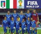 Seleção da Itália, Grupo D, Brasil 2014