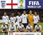 Seleção da Inglaterra, Grupo D, Brasil 2014