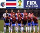 Seleção da Costa Rica, Grupo D, Brasil 2014