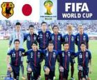 Seleção do Japão, Grupo C, Brasil 2014