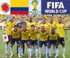 Seleção da Colômbia, Grupo C, Brasil 2014