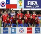 Seleção do Chile, Grupo B, Brasil 2014