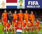 Seleção da Neerlandesa, grupo B, Brasil 2014