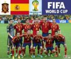 Seleção da Espanha, Grupo B, Brasil 2014