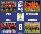 Grupo B, Brasil 2014