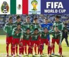Seleção do México, Grupo A, Brasil 2014