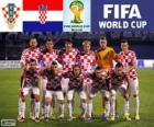 Seleção da Croácia, Grupo A, Brasil 2014