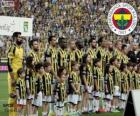 Fenerbahçe, campeão Super Lig 2013-2014, liga de futebol da Turquia