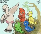 Aves de cores, Julieta Vitali