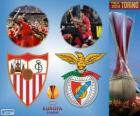 Sevilla vs Benfica. Europa League 2013-2014 Final, no Juventus Stadium, Turim, Itália