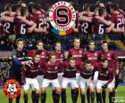 Sparta Praga, campeão da liga Checa do futebol, Gambrinus Liga 2013-2014