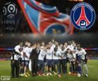 Paris Saint Germain, PSG, campeão da Ligue 1 2013-2014, liga de futebol da França