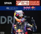 Daniel Ricciardo - Red Bull - GP da Espanha 2014, 3º classificado