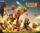Várias tropas dos jogo Clash of Clans