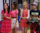Francesca, Violetta, Ludmila e Maxi, Violetta 2