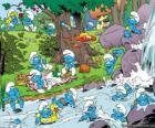 Os Smurfs no Rio