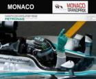 Nico Rosberg comemora sua vitória no GP de Mônaco 2014
