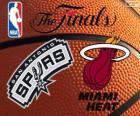 2014 NBA finais. San Antonio Spurs vs Miami Heat