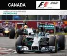 Nico Rosberg - Mercedes - GP do Canadá de 2014, 2º classificado