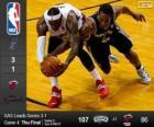 2014 NBA finais, quarto jogo, San Antonio Spurs 107 - Miami Heat 86