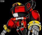 E-123 Omega, robô criado pelo Doutor Eggman