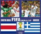 Costa Rica - Grécia, oitava final, Brasil 2014