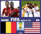 Bélgica - Estados Unidos, oitava final, Brasil 2014