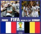 França - Alemanha, quartas de final, Brasil 2014