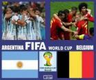 Argentina - Bélgica, quartas de final, Brasil 2014