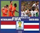 Países Baixos - Costa Rica, quartas de final, Brasil 2014