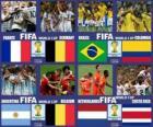 Quartas de final, Brasil 2014