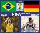 Brasil - Alemanha, semi-finais, Brasil 2014