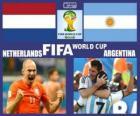 Holanda - Argentina, semi-finais, Brasil 2014