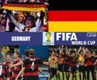 Alemanha comemora sua classificação, Brasil 2014