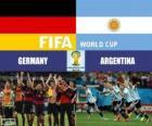 Alemanha vs Argentina. Final da Copa do Mundo FIFA Brasil 2014