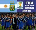 Argentina, segundo classificado do Copa do mundo de futebol Brasil 2014