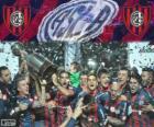 San Lorenzo de Almagro, campeão da Copa Libertadores da América de 2014
