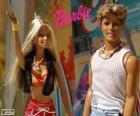 Barbie e Ken no verão