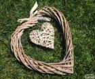 Coração do rattan