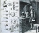 Antoine Lavoisier (1743-1794), químico francês, considerado o criador da química moderna