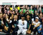 Lewis Hamilton, campeão do mundo de F1 2014 com Mercedes