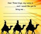 Carta para os três reis