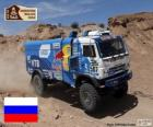 Airat Mardeev, Aydar Belyaev e Dmitriy Svistunov campeões do caminhão Dakar 2015