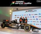 Sahara Force India F1 team 2015
